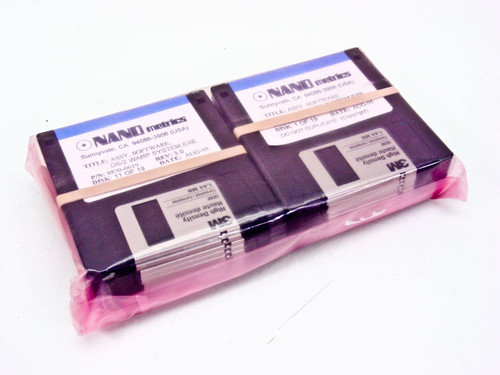 Nano Metrics OS2 Warp System Software 8830-0619