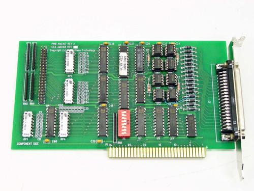 Dison AMC167 REV A 8-Bit ISA 40 Pin Internal 37 Pin External Port Controller Card