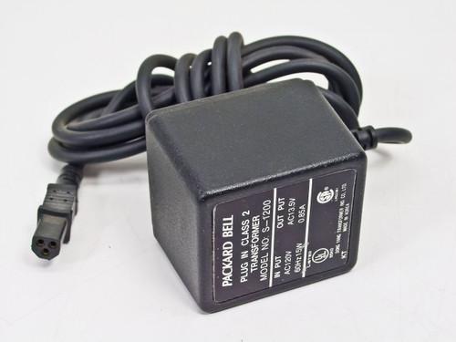 Packard Bell  3 Pin Female 13.5 0.85A Power Supply S-1200