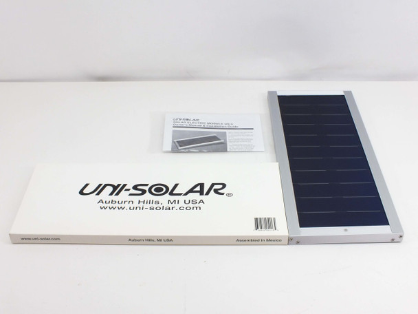 Uni-Solar US-5 12V 5W 1/3A Solar Panel Battery Trickle Charger *Car-Boat-Truck*
