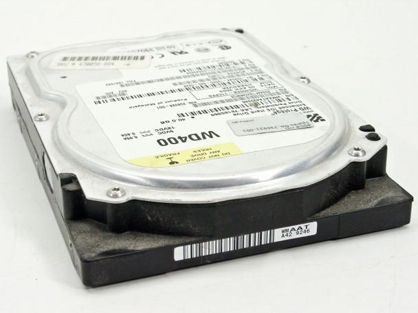 """Compaq 236921-001 40GB 3.5"""" IDE Hard Drive HDD - WD400EB - Dell 2K044 - WIPED"""