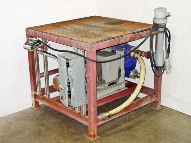 Pennsylvania Scale Platform with Alfa Laval Flow 140FBB Pump 013-04B