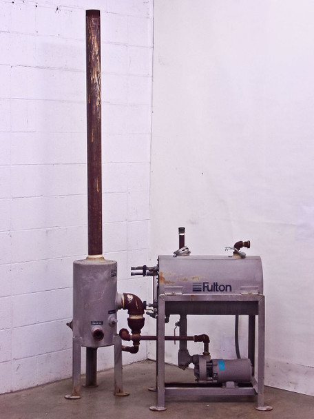 Fulton HT8 Horizontal Condensate Steam Boiler Return - System Blow-Off Separator