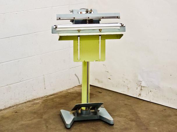"TEW TISF-452 18"" Impulse Sealer Plastic Heat Sealer - Bad Element - As Is / For Parts Repair"