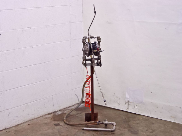 "ARO Compact 1/2"" Port Metallic Pump with Stand PD05P-ASS-STT"