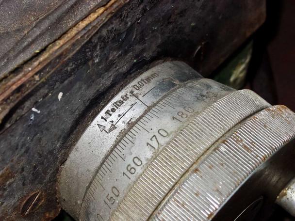 Bothner WB15 Optical Curve Generating Lathe 60º Swivel 150mm Stroke 220VAC