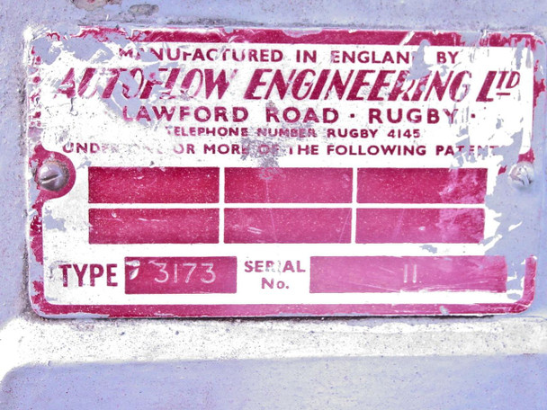 "Autoflow Engineering LTD 3173 14"" Diameter Optical Glass Lens Polishing Lathe"