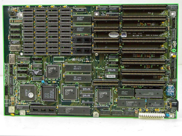 Magitronic B223 / PTM1010 Super 286 Baby Mainboard 12MHz - BARE MOTHERBOARD