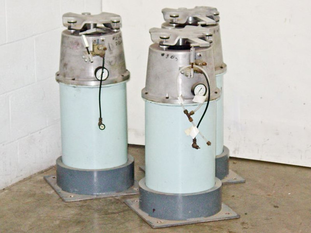 Optical Breadboard Pneumatic Air Isolation Antivibration Mount Legs - Lot of 3