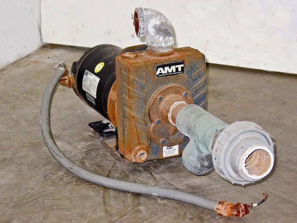 AMT 1.5 HP Stainless Steel Shaft Self Priming Centrifugal Pump  2822-95