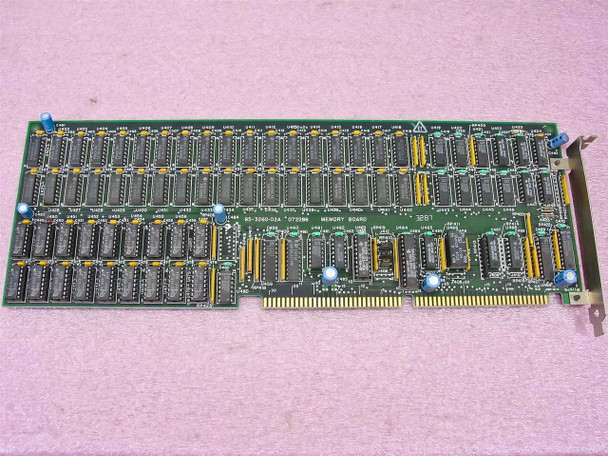 Zenith 85-3260-02A 16 Bit ISA Memory Expansion Board 072286 - VINTAGE - As Is