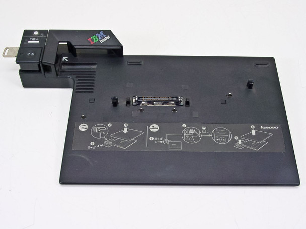 Lenovo T60 Z60 R60 Thinkpad Laptop Mini Dock Type 2504 Port Replicator (41W6563)
