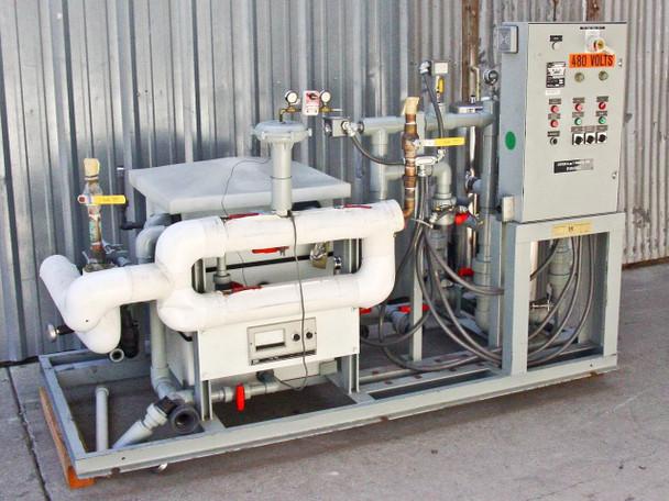 California Hydronics Corp. Heat Transfer Package w/ Duplex Pump Controller P-044