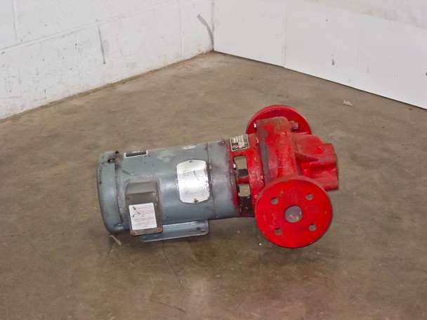 Bell & Gossett 1 1/2X7B 80 Pump 32GPM 3HP 3600RPM Water Pump 230/460 3 Phase