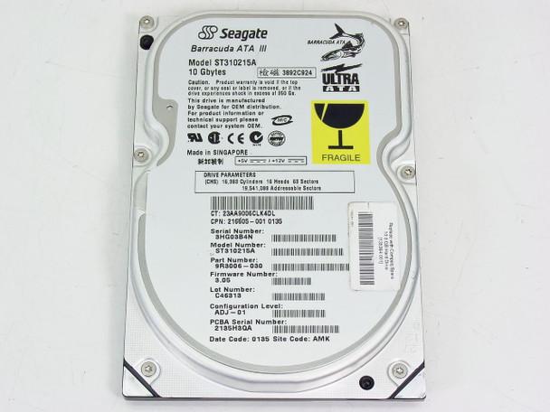 "Compaq 10GB 3.5"" IDE Hard Drive - Seagate ST310215A (135364-001)"