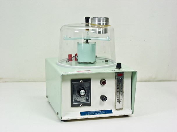 Mattson-Garvin Model 200 Agar Vacuum Air Sampler with Rotating Media Platform