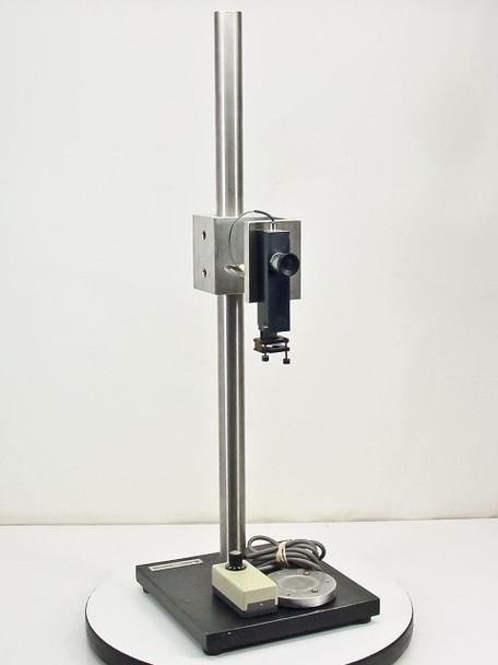 """Bausch & Lomb Standing Optical Platform with Light 10"""" x 10"""" x 32"""" Tall"""