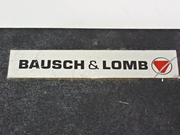 """Bausch & Lomb Optical Platform Stand with Light (10"""" x 10"""" x 32"""")"""