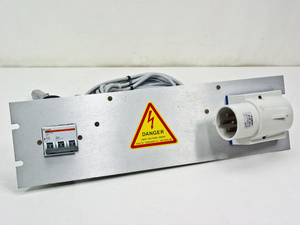 Riber B.B22OTRI Panel with Legrand P17 582 65 Connector 220V 32 Amp