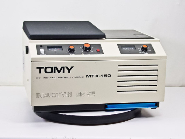 Tomy Seiko MTX-150 Refrigerated Benchtop Centrifuge with TMA-11 Rotor - 120 Volt