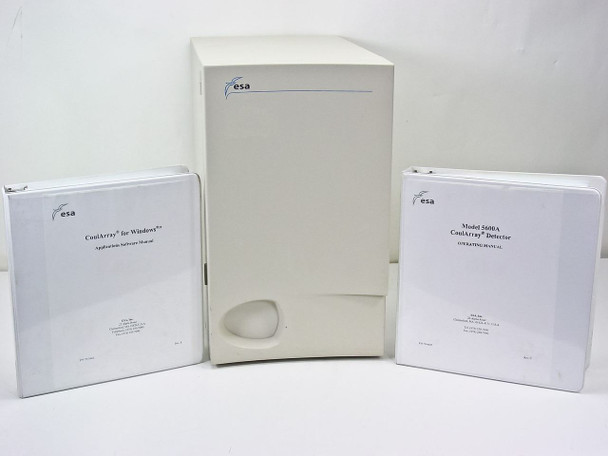 ESA 5600A Coul Array Organizer with Manuals