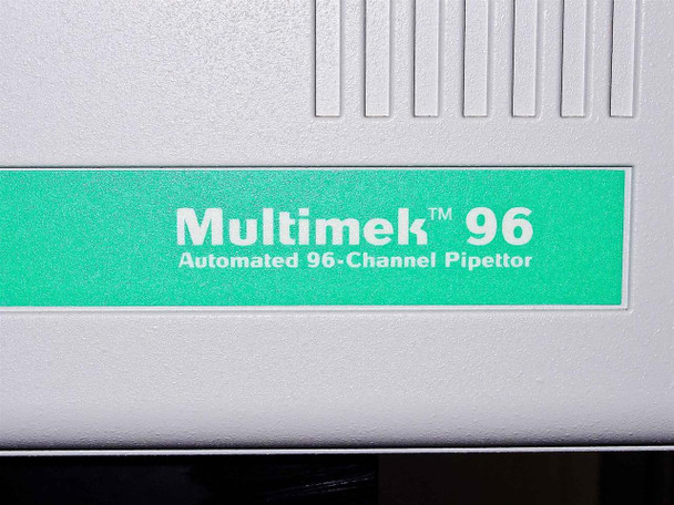 Beckman MultiMek 96 Automated 96 Channel Pipettor w/ Manual and Software - AS IS