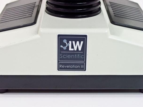 LW Scientific Revelation III Trinocular Microscope Achromatic - 3 Objectives