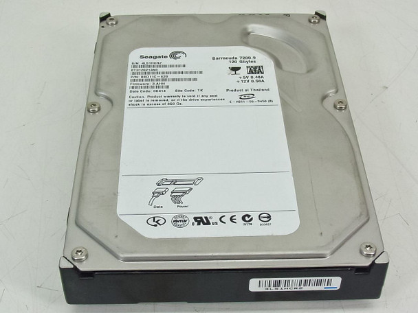 Seagate Barracuda 120GB 7200RPM SATA Internal Hard Drive (ST3120213AS)