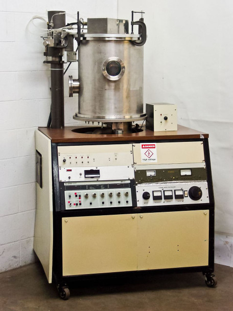 Ion Tech ID-3500 Advanced Energy w/Large Bell Jar Ion Beam Coater Evaporator
