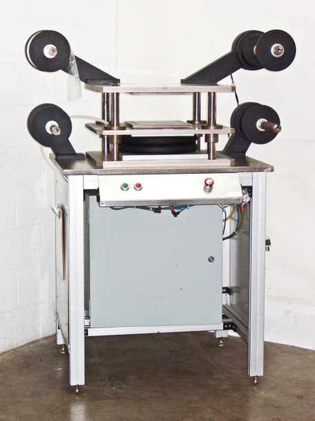 Stomper Laminating Press Pneumatic