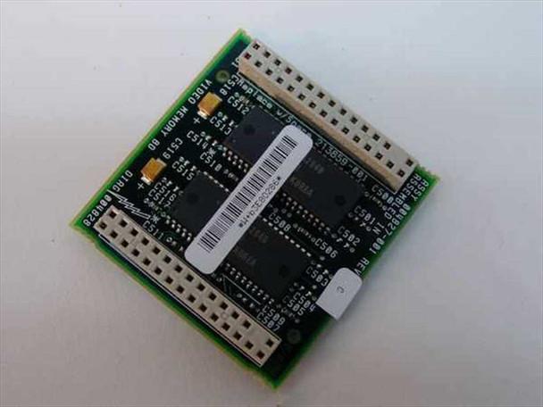 Compaq 213859-001 1MB Video Memory Upgrade Board Deskpro 2000 / 4000 Systems