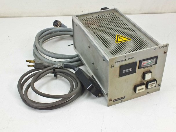 Pfeiffer TCP 040 / TPH 040 Turbo Pump with Controller Power Supply Cables AS IS