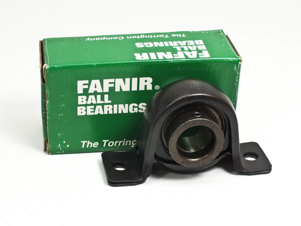 Torrington Fafnir RA100RPB1 2 Bolt Pillow Block Non Expansion Ball Bearing Black