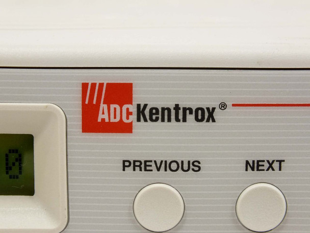 ADC Kentrox DataSmart Max 771 T1 4 Port Adapter with 01-95001074 Cable 72771