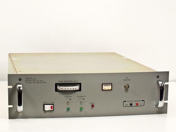 3dbm 70 MHz FM Modulator 7FMO-BS-2X-AYD