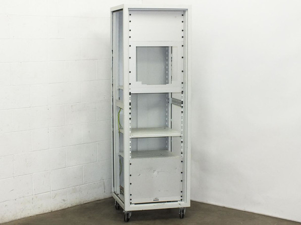 """Nimbus 19"""" Rackmount Cabinet with Shelves and Covers on Wheels 38U"""