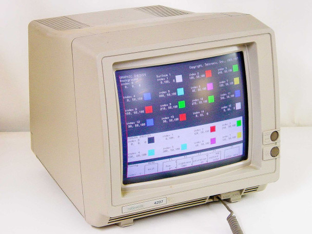Tektronix 4207 Terminal Computer Display - no keyboard