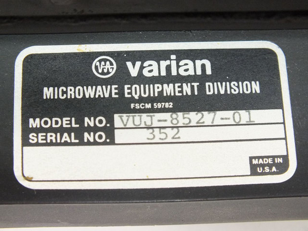 Varian Microwave Waveguide Load Metering Assembly C Band (VUJ-8527-01)