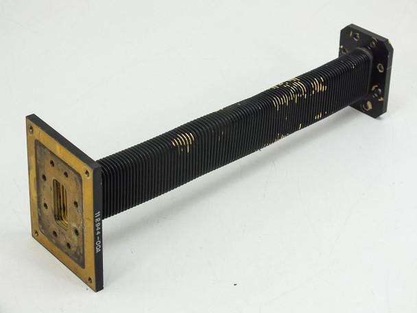 Black  1' Flex waveguide WR-137 C Band 5.85-8.2 GHz 112944-00A