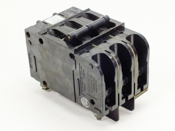 Heinemann 3 Pole Circuit Breaker CD3-A3A3A6-DU