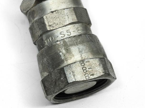 "CTI Single 3/4"" Cryopump Vacuum Helium Compressor Line 20 Foot Elbow (8081271)"
