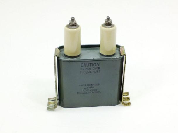 Condenser Products .02 MFD Capacitors 15,000 Volts DC (KMOC 15M002ES)