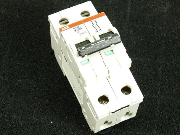 ABB K20A S282 480Y/277 VAC 10kA 2 Pole Circuit Breaker S282-K20W