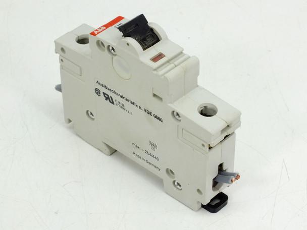 ABB K10A S281 480Y/277 VAC 10kA 1 Pole Circuit Breaker S281-K10W