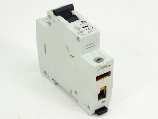 Eaton Moller 1 Pole Circuit Breaker 10Amp FAZ C10/1