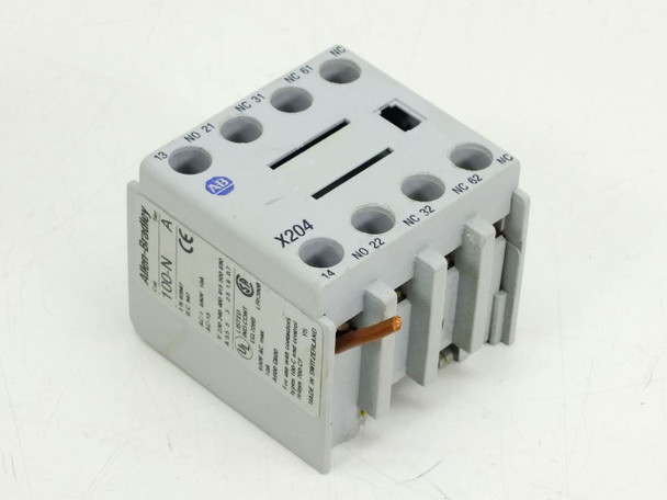 Allen-Bradley X204 Auxiliary Contact 600 Volts 10 Amp (100-N)