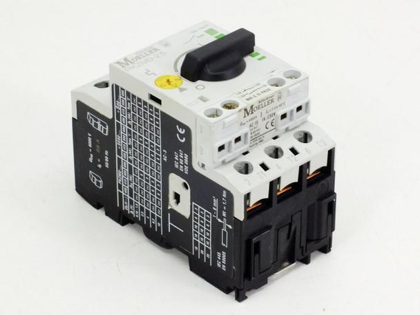 Eaton Moeller PKZM0-2.5 Manual Motor Protector Circuit Breaker