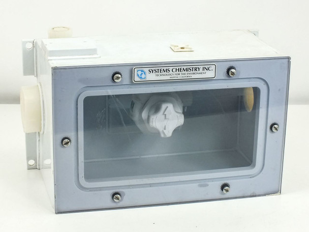 Systems Chemistry/Fluoroware Chemical Control Valves in Sealed Enclosure 201-32