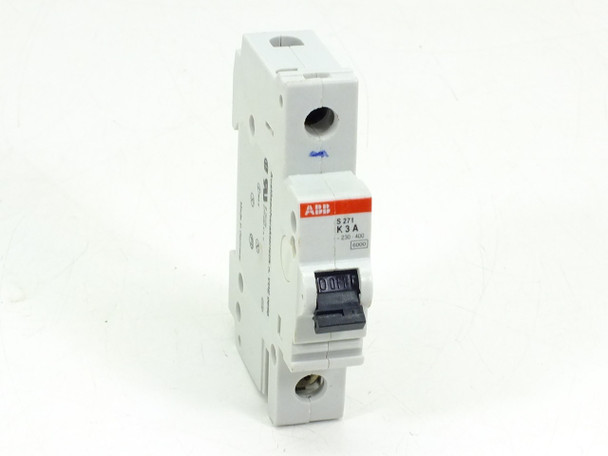 ABB S271-K3A Circuit Breaker 3AMP 1POLE 277/480VAC