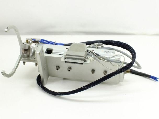 SMC Rotary Air Gripper and Pneumatic Liner Slide (MRHQ16D-180S-N)
